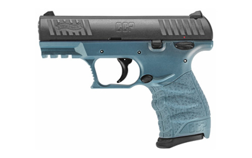 "Walther CCP M2, Compact Pistol, 9mm, 3.54"" Barrel, Polymer Frame, Blue Titanium Finish, 2-8rd Magazines"