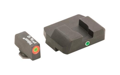 AmeriGlo Pro I-Dot 2 Dot Tritium Night Sights Front and Rear, Green