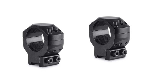 "Hawke Tactical Ring Mounts 9-11mm, Med, 1"", 2Pc, With Nut"
