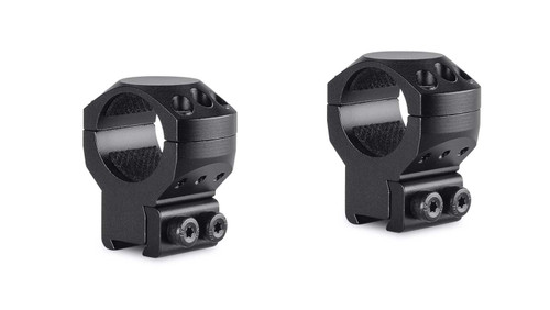 "Hawke Tactical Ring Mount 9-11mm, High, 1"",2Pc, With Nut"