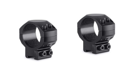 Hawke Tactical Ring Mounts 9-11mm, Med 30mm 2Pc, With Nut