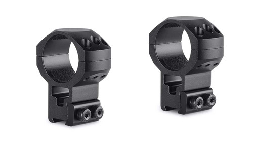 Hawke Tactical Ring Mounts 9-11mm, Extra - High,30mm,2Pc, With Nut