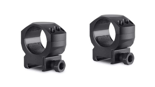 Hawke Tactical Ring Mounts Weaver, Med, 30mm, 2Pc, With Nut