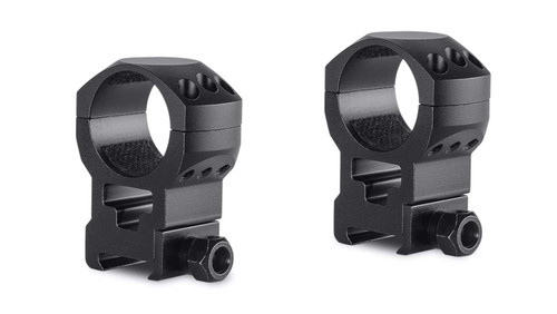 Hawke Tactical Ring Mounts Weaver, Extra - High, 30mm, 2Pc, With Nut