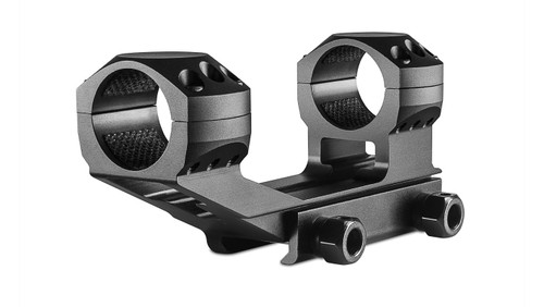 """Hawke Tactical Cantilever Ring Mounts AR,  Weaver, High, 1"""", 1Pc, With Nut"""