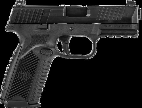 """FN 509 9mm 4"""" Barrel No Manual Safety Black Slide/Interchangeable Backstrap Grip 17rd Mag"""