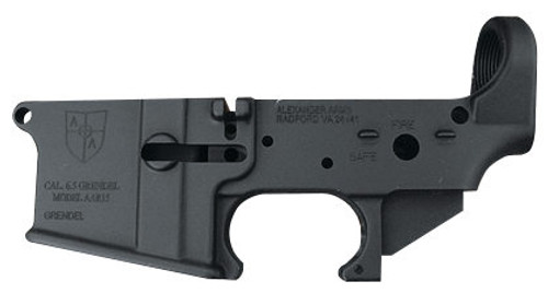 Alexander Arms 6.5 Grendel AR-15 Stripped Lower Receiver