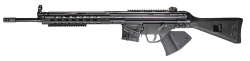 "PTR 91 FR .308 Win/7.62mm 18"" Match Grade Bull Barrel Threaded 5/8x24, Powdercoat Finish Black, Fixed Stock 10rd California Compliant"