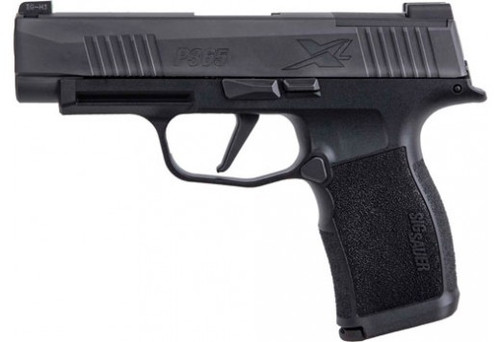 "Sig P365 XL X-Series 9mm, 3.7"" Barrel, Xray3, Optics Ready, Black, 12rd"