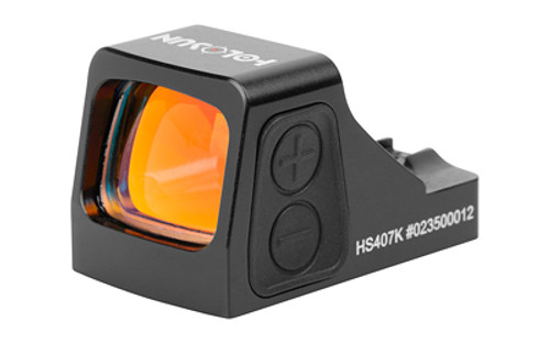 Holosun Technologies 407K Red Dot, 2 MOA Dot, Multicoated Lens, Shake Awake