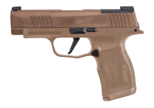 "Sig P365XL NRA Edition 9mm, 3"" Barrel, Xray3, Coyote Tan, NRA Coin, 2x 12rd/1x 15rd"