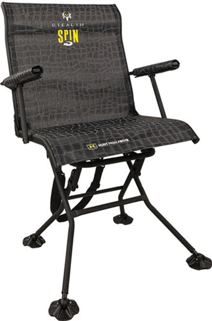Walkers Stealth Spin Chair Camo Steel