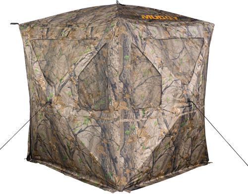 """Walkers Ravage Ground Blind Weather Resistant Fabric 72"""" x 72"""" x 64"""""""