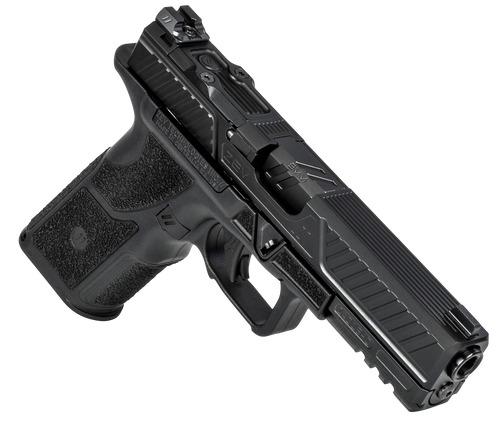 ZEV OZ9 Standard 9mm 17rd Black Polymer Grip