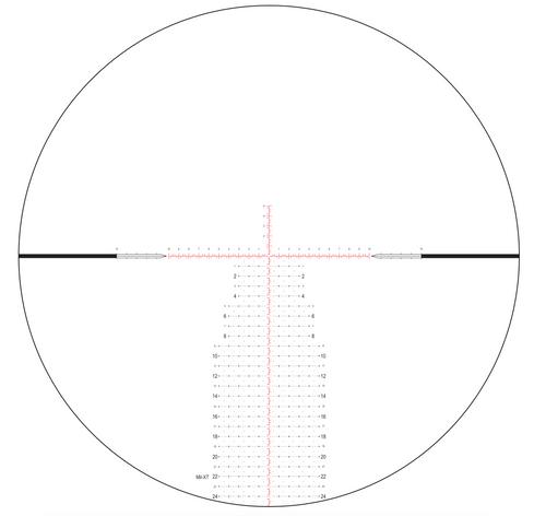 Nightforce ATACR - 5-25X56mm F1 - Zerostop - .1 Mil-Radian - Digillum - PTL - Mil-Xt