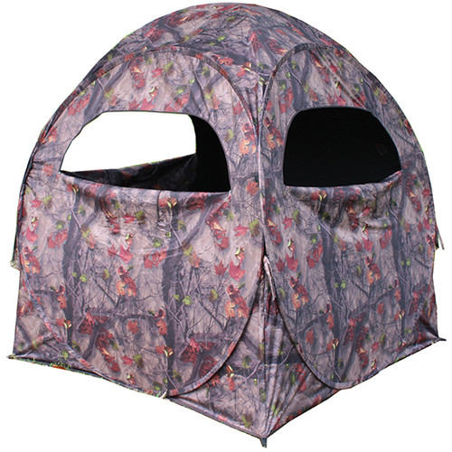 """HME Spring Steel 75 Pop up ground blind polyester fabric 58""""x58""""x57"""""""