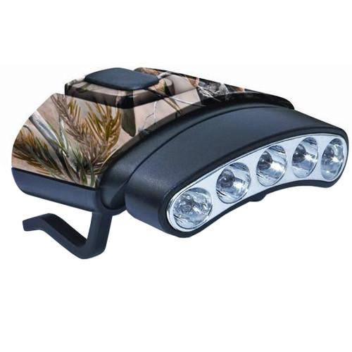 Cyclops The Tilt Hat Light, Camo, White Light, 27 Lumens LED