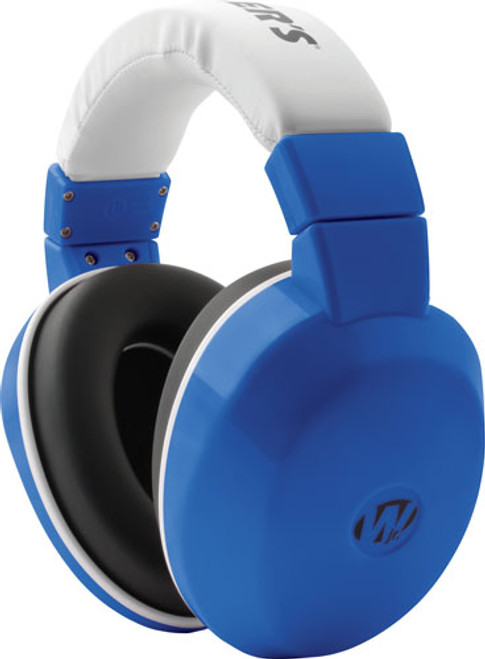Walkers Youth Passive Muffs 24 dB royal blue