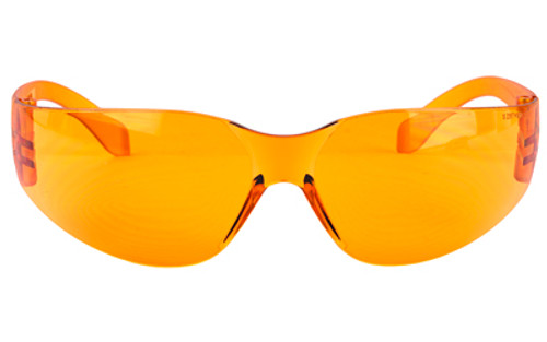 Walkers Clearview Wrap Shooting Amber Polycarbonate Glasses