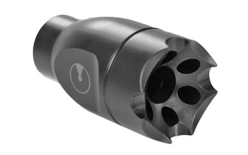 Ultradyne Athena Linear Compensator Muzzle Brake, AK, 7.62 x 39, M14x1 LH Thread, 416 SS, Black Nitride Finish