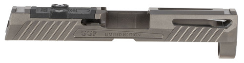 Grey Ghost Precision Sig P320 Version 1 Compact Stripped Slide, Gray DLC, RMR/DDP/Romeo1