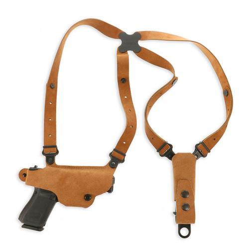 Galco Classic Lite Shoulder System Natural Leather Shoulder Glock 43, 43x, 48, RH