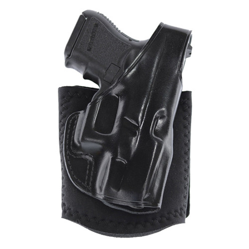 Galco Ankle Glove Black Steerhide Ankle fits Glock 48, RH