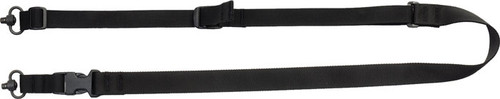 Tacshield Tactical 2-Point Sling QD with Fast Adjust Black Webbing