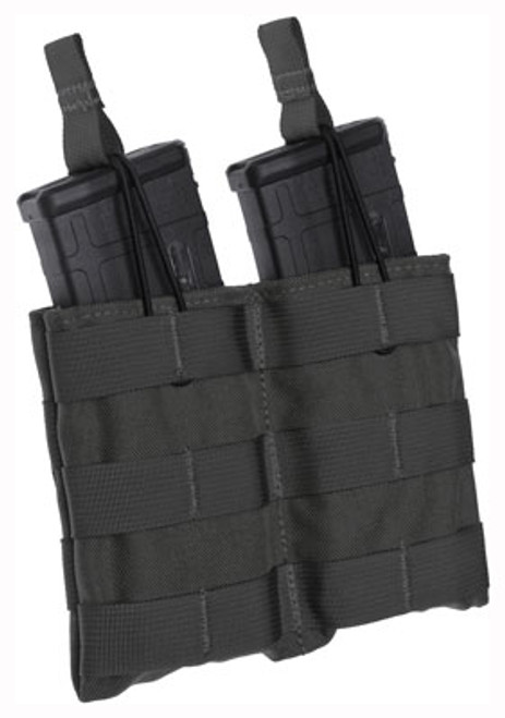 Tacshield Speed Load Double Rifle Mag Pouch Black 1000D Nylon