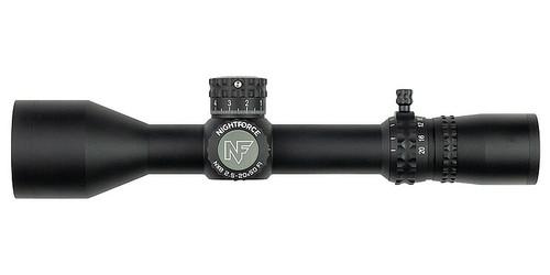 Nightforce NX8 - 2.5-20X50mm F1 - Zerostop - .1 Mil-Radian - Digillum - PTL - Mil-Xt