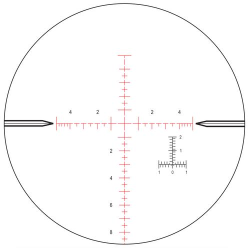 Nightforce Optics ATACR - 4-16x42mm F1 - ZeroHold - .1 Mil-Radian - DigIllum - PTL - Mil-R