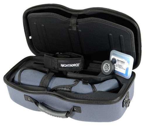 Nightforce Optics Kit - TS-82 - Xtreme Hi-Def - Angled - with 20-70x eyepiece (SP101) Case (A290)