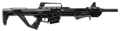 """Dickinson Ermox Hybrid 12 Ga, 18.5"""" Barrel, 3"""", Breacher, Hardcase, Black, 5rd"""
