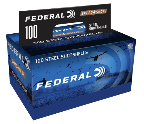 "Federal Speed-Shok 12 Ga, 3"", 1 1/4oz, BB Shot, 100rd Box"
