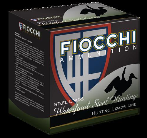 "Fiocchi Shooting Dynamics Waterfowl 12 Ga, 3"", 1 1/5oz, 3 Shot, 25rd Box"