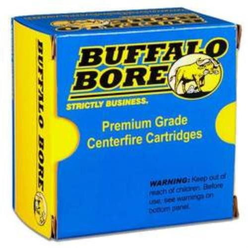 Buffalo Bore Ammo Handgun 500 S&W Lead Flat Nose 440 gr, 20rd Box