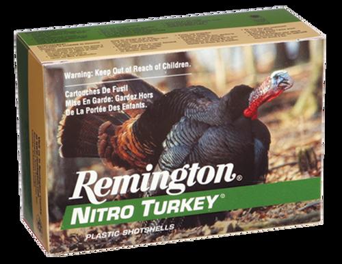 """Remington Nitro Turkey 12 Ga, 3.5"""", 2oz, 5 Shot, 5rd Boxes, Case of 20 Boxes"""