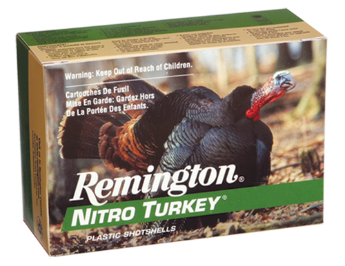 "Remington Nitro Turkey 12 Ga, 2.75"", 1 1/2oz, 4 Shot, 10rd Box"