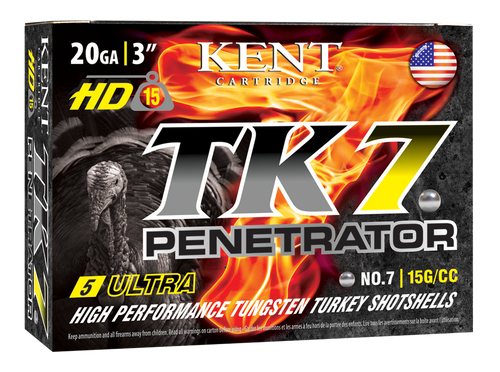"Kent Cartridge Ultimate Fast Lead 20 Ga, 3.00"", 1 1/4oz, 6 Shot, 25rd Box"