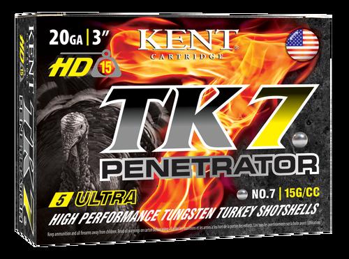 "Kent Cartridge Ultimate Fast Lead 20 Ga, 3.00"", 1 1/4oz, 5 Shot, 25rd Box"