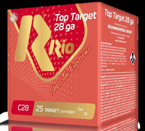 "Rio Top Target 28 Ga, 2.75"", 3/4oz, 9 Shot, 25rd Box"