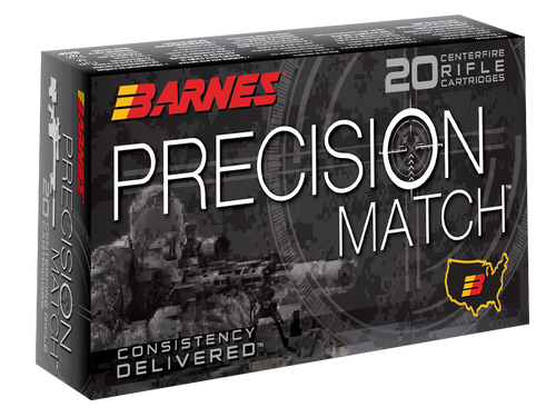 Barnes Precision Match 260 Remington 140gr, Open Tip Match Boat Tail, 20rd Box