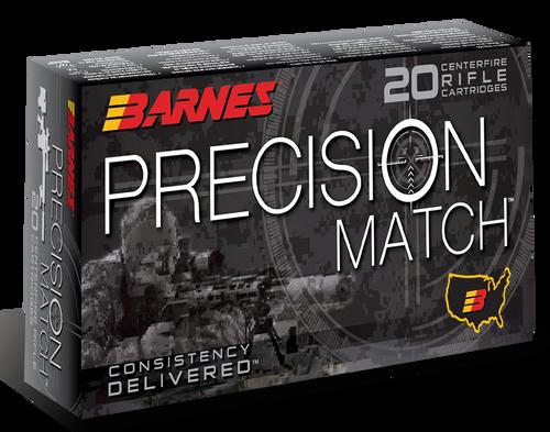 Barnes Precision Match 6mm Creedmoor 112gr, OTM Boat Tail, 20rd Box