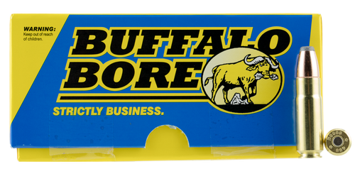 Buffalo Bore Hunting & Sniping 458 SOCOM 350gr, Semi Jacketed Flat Point, 20rd Box