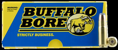 Buffalo Bore Hunting & Sniping 458 SOCOM 400gr, Semi Jacketed Flat Point, 20rd Box
