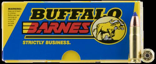 Buffalo Bore Hunting & Sniping 458 SOCOM 300gr, Barnes Tipped TSX Lead Free, 20rd Box