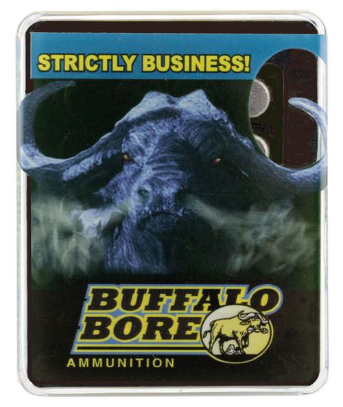 Buffalo Bore Pistol 454 Casull 360gr, Lead Wide Nose, 20rd Box