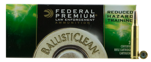 Federal Ballisticlean 223 Rem 55gr, Frangible, 20rd Box
