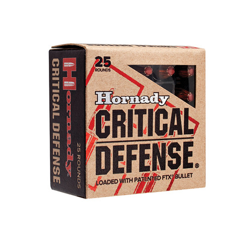 Hornady Critical Defense 327 Federal Mag 80gr, Flex Tip eXpanding, 25rd Box