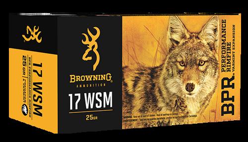 Browning BPR 17 WSM 25gr, Polymer Tip, 50rd Box